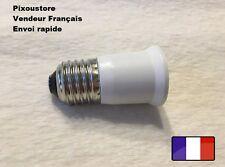 Adaptateur douille E27 mâle - E27 femelle pour ampoule culot neuf 8-43