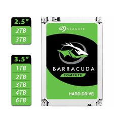 """Seagate BarraCuda 1TB 2TB 3TB 4TB 6TB 2.5"""" 3.5"""" SATA Internal Hard Drive HDD"""