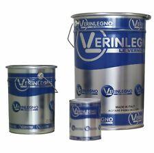 Impregnante legno esterni cerato professionale ad acqua VerinLegno 5 lt.