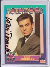 Louis Jourdan Signed Starline Hollywood card