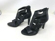 Womens Simply vera (160089) Dragon black high heel sandals (421i)