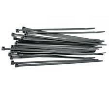 CABLE TIES (300mm x 4.8mm) Zip Tie Wraps - BLACK - 10/25/50/100 - Free P&P