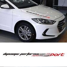 Avante Sport Logo Slogan Decals Sticker Cover 6Color For HYUNDAI 2017 Avante AD