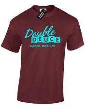 Double Deuce Hommes T Shirt Roadhouse Années 80 Film Culte Patrick Swayze Ghost Nouveauté