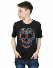 Disney niños Coco Skull Pattern Camiseta