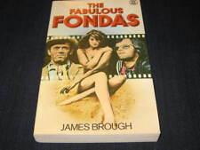 THE FABULOUS FONDAS JANE PETER HENRY FONDA JAMES BROUGH BOOK BRITISH OOP