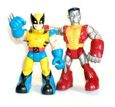 Marvel SPIDERMAN Friends X Men WOLVERINE & COLOSSUS toy figures