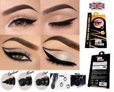 Precision Black 2in1 Waterproof Liquid Eyeliner Pen with Stamp Tattoo in 4 Shape