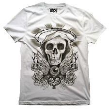 RARE unworn AUTHENTIC Asos Tatuaggio Skull Rock Star Vip T-shirt G.M