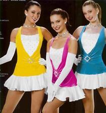 Jazz Dance Costume Art stone Skate Tap Dress Girls Rule 562