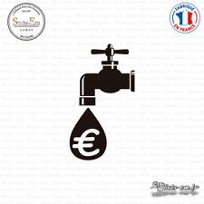 Sticker Robinet Économie Decal Prise - Interrupteur PR-010 Couleurs au choix