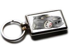 VAUXHALL CORSA SRi Front View Car Koolart Chrome Keyring Picture Both Sides