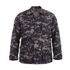 SUBDUED Urban Digital Camo BDU SHIRT Army Marine Corps USMC Navy Police SWAT