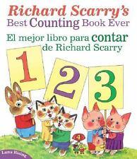 Richard Scarry's Best Counting Book Ever / El Mejor Libro Para Contar de Richard