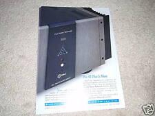 Krell Power Amp Ad from 1996,300 Full Power Balanced!