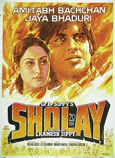 Casa Pared Arte Impreso-Vintage Movie Film Poster de Bollywood-Sholay-A4, A3, A2, A1