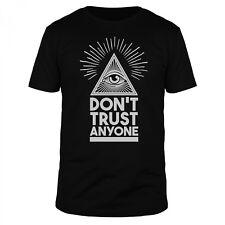 Œil de la Providence T-shirt Homme All-Over pression maçonnique dollars Illuminaten