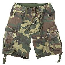Vintage Camo Camouflage Cargo Shorts - XS through 3XL