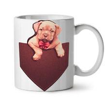 Pocket Puppy Funny Animal Love NEW White Tea Coffee Mug 11 oz | Wellcoda
