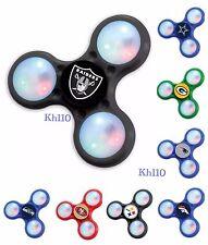 NFL,NBA Team Three Way LED Light Fidget Spinners toy Finger Spinner-in stock