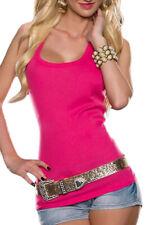 maglia donna canotta donna t-shirt casual maglia lavorata maglia senza maniche