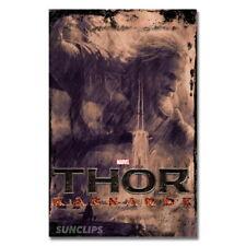 138180 Thor Ragnarok Hot MovieChris Hemsworth FRAMED CANVAS PRINT AU