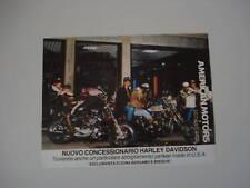 advertising Pubblicità 1982 HARLEY DAVIDSON