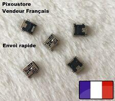 Lot de 5, 10 ou 15  Connecteur à souder mini USB type B femelle / Neuf. Qualité