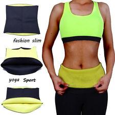 Sweat Hot Shaper Neoprene Body Slimming Waist Trainer Cincher Slim Belt Yoga Gym