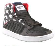 SUPRA STEVIE Williams S1W BADGE chaussures étoiles & bandes Noir