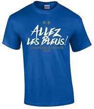 Allez les bleus! Champions Du Monde T-Shirt - France Francais French World Cup