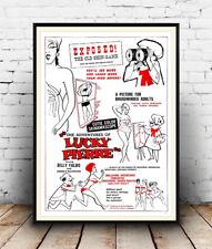 Aventuras De Lucky Pierre, películas, anuncios, carteles, arte de pared, la reproducción.