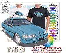 CLASSIC 91-95 COMMODORE SEDAN ILLUSTRATED T-SHIRT MUSCLE RETRO SPORTS CAR