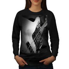 Bass Guitar Jazz Music Women Sweatshirt NEW | Wellcoda