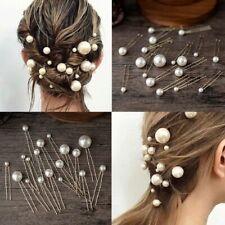 20pcs / boîte perle en épingle à cheveux boule de noce de mariage