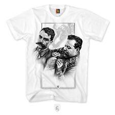 Og Abel Ogabel Villa Zapata Tatuaje Artista Ink Urban Blanco Camiseta A0438-002