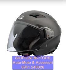 PREMIER BLISS U9BM Casco Jet Moto Scooter Open Face Helmet Premier Black Nero