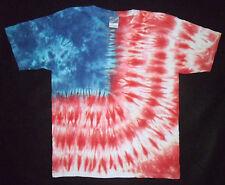 AMERICAN FLAG TIE DYE KIDS T SHIRT