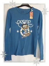 Haut T-shirt Betty Boop Gris ou Bleu Le Temps des Cerises 4 ans - 16 ans Neufs