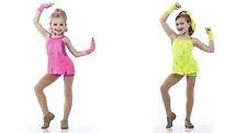 Acro Jazz Hip Hop Dance Costume Lace Handgloves CHILD SIZES & Plus Size 2XL