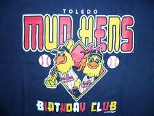 TOLEDO MUD HENS BIRTHDAY CLUB SHIRT Muddy NEW Youth XL