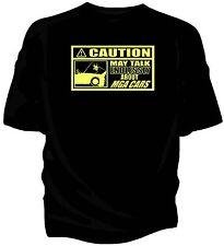 """""""attenzione-può parlare all'infinito su... MGA AUTO T-shirt"""