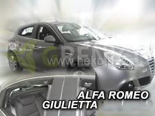 Windabweiser ALFA ROMEO GIULIETTA 5-t 10-heute 4tlg  HEKO dunkel Regenabweiser