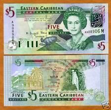 Eastern East Caribbean, $5 (2003), Montserrat Pick 42m UNC