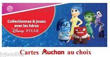 Carte Disney Pixar Auchan (au choix)