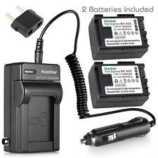 Kastar Battery and Normal Charger Kit for Canon BP-808 XA10 HF20 HF S20 VIVIXA