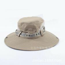 Outdoor Boonie Hats Sun Fishing Hats Wide Brim Bucket Hats Wide Brim Bucket Hats