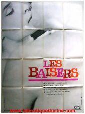 LES BAISERS Affiche Cinéma / Original Movie Poster BERTRAND TAVERNIER / BERRI