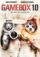 GAMEBOX 1.0 rare Sci-Fi Horror dvd VIDEO GAMING TO THE DEATH Danielle Fishel