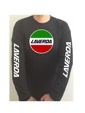 LAVERDA SLEEVE PRINT motorcycle t-shirt SEE BOTH PHOTOS